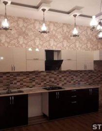 Плитка на кухне + оформление фото 5