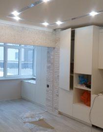 Плитка на кухне + оформление фото 6
