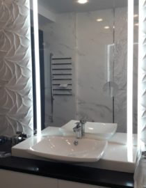 Плитка в ванной комнате фото 10