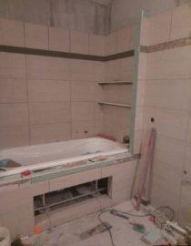 Плитка в ванной комнате фото 13