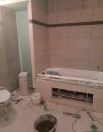 Плитка в ванной комнате фото 14